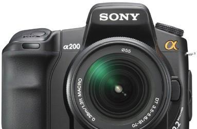 Sony Alpha A200 DSLR review roundup