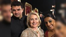 Fangirl Vidya Balan Poses With Hillary Clinton