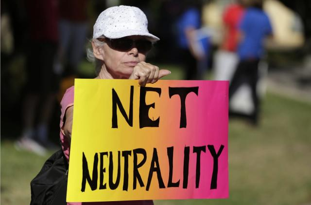 Facebook and Google join net neutrality 'day of action'