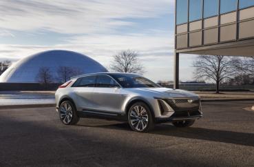 車內螢幕33吋,2023年式CADILLAC豪華電動Lyriq正式亮相