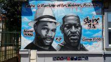 À Stains, la fresque contre les violences policières recouverte de graffitis