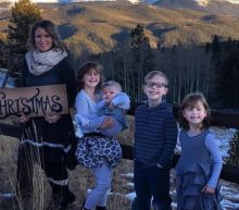 Mom Makes Cute Photoshopped Christmas Card While Her Husband Is Deployed in Iraq