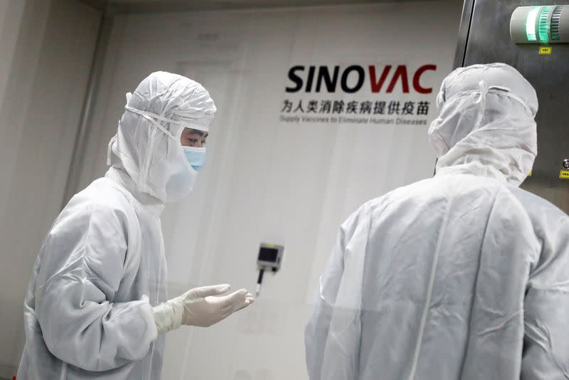 China's Sinovac expects interim final-stage trial data on ...
