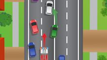 Road rule about crossing onto wrong side of road divides drivers