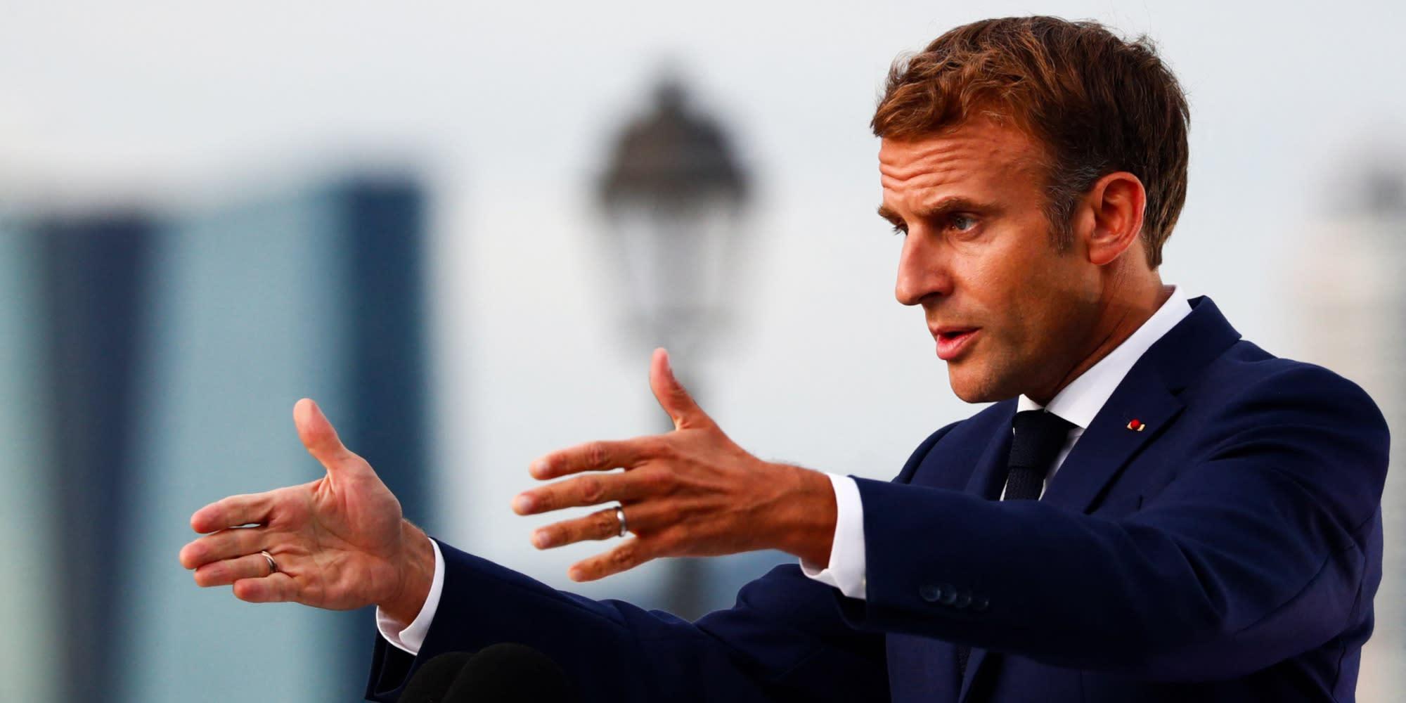 INFO EUROPE 1 - Le QR Code d'Emmanuel Macron diffusé sur internet, l'Élysée confirme son authenticité