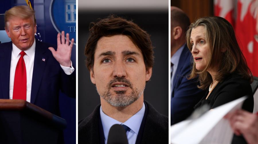 How Canada convinced U.S. to send 500,000 masks