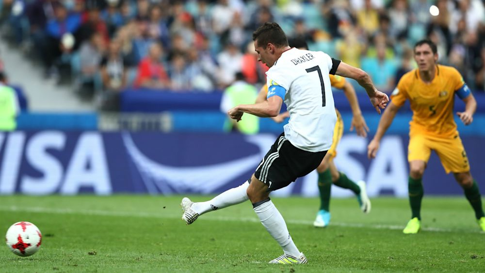 Australia 2 Germany 3: Goals galore as world champions get off to winning start