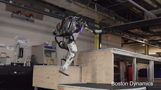 After Math: Every robot was parkour fighting