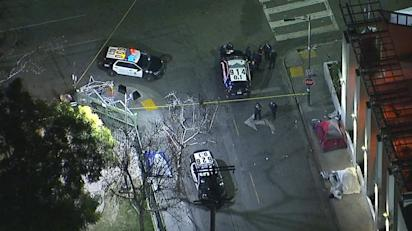 Downtown La Motors >> Person Fatally Shot In Downtown La Police Say