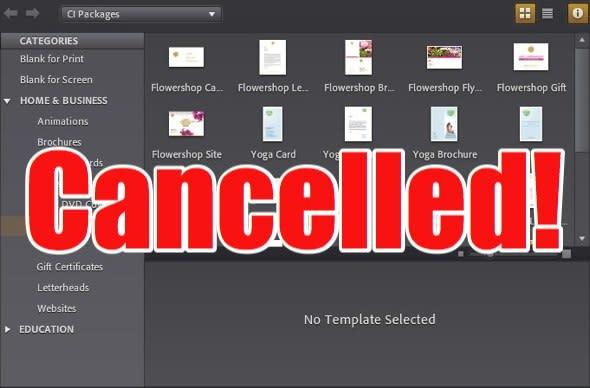 Adobe gives the sack to Project ROME design app