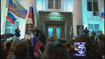 Russia rallies support for Crimean secession from Ukraine