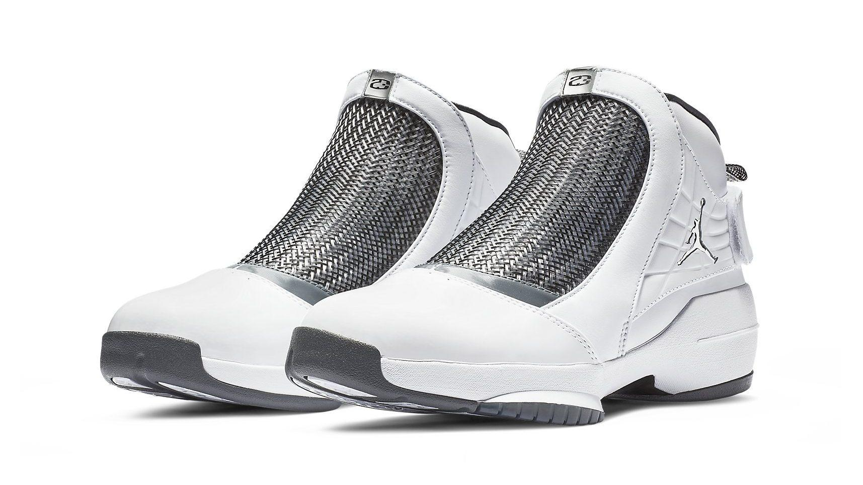 new concept 988d9 a4449 This Classic Air Jordan 19 Gets a Futuristic Twist and Carmelo Anthony  Branding