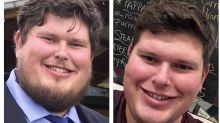 On his 600th day of sobriety, this man shared his remarkable before and after pictures