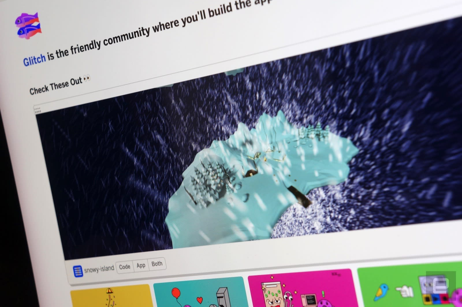 Glitch launches its 'YouTube for app creators' | Engadget