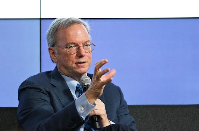 Alphabet's Eric Schmidt to lead military innovation board