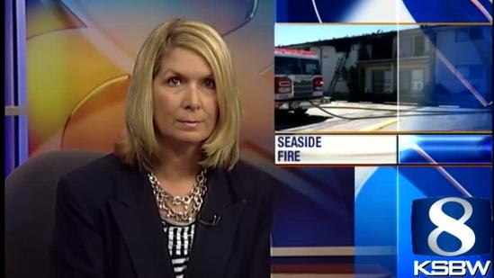 Seaside mom refused to leave daughter in fire