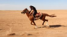 Rebel parts of Syria revive beloved Arabian horse races