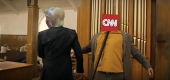 Indignación por violento video parodia de Trump