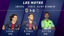 Angers-PSG (1-2) : Les notes des Parisiens
