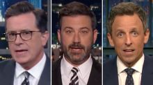 Trump 'Needs to Go,' Late-Night Hosts Agree in Wake of That Press Conference