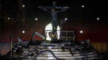 La quema de la imagen de la Sangre de Cristo revive roces entre la Iglesia y los sandinistas