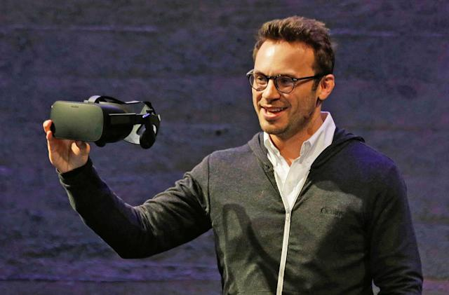 Oculus co-founder Brendan Iribe leaves Facebook