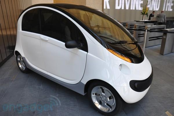 Peapod the friendly Neighborhood Electric Vehicle in the flesh (with video!)