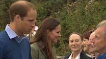 Raw: Kate at First Public Appearance After Baby