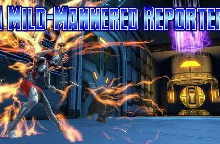 A Mild-Mannered Reporter: DC Universe Online's crisis of origins