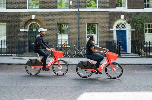 Uber's Jump will take on Lime's e-bikes in London