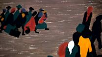 Jacob Lawrence's Great Migration series honoured at MOMA