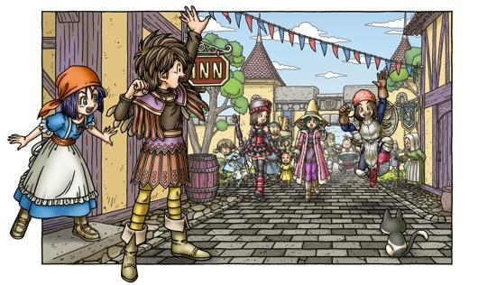 Dragon Quest IX map, Metroid: Other M demo available at Comic-Con