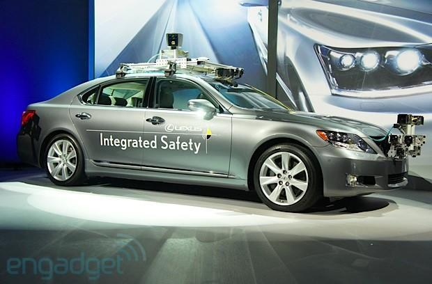 Lexus' autonomous Advanced Active Safety Research Vehicle and why we're not ready for self-driving cars