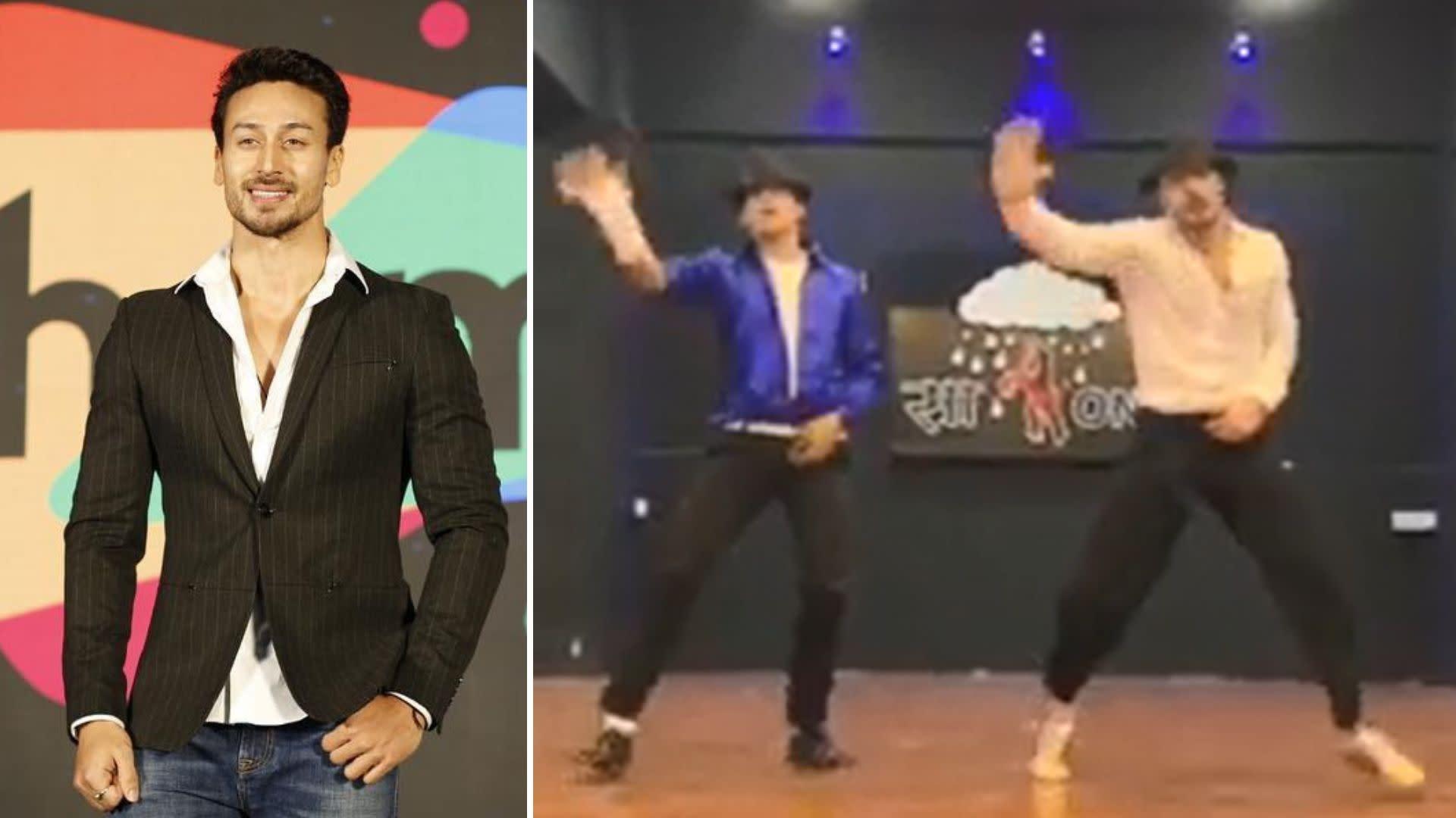 c0fcb7127b42 Tiger Shroff Shakes a Leg to 'Khalibali', Michael Jackson Style