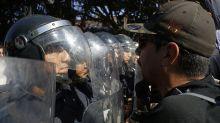 Bedrohliche Stimmung: Proteste gegen Migranten in Tijuana