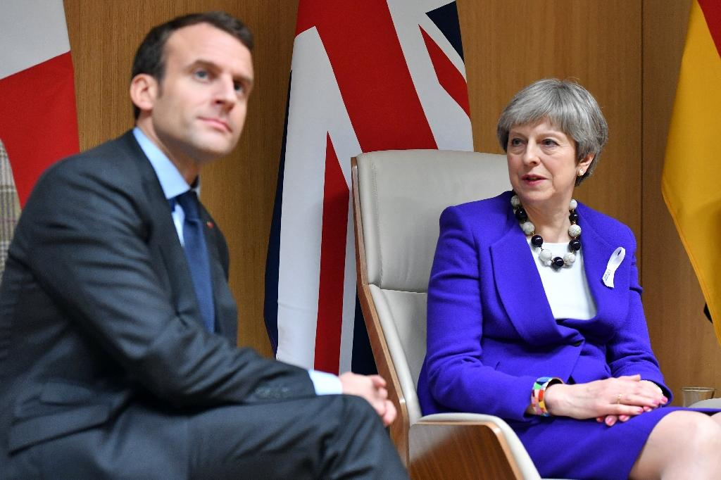 British Prime Minister Theresa May and French President Emmanuel Macron are jointly involved in their first major military intervention as national leaders