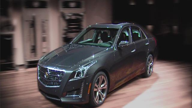 2014 Cadillac CTS unveiled