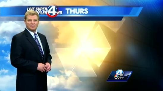 John Cessarich's forecast for Wednesday, May 8, 2013