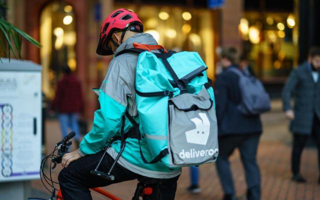 UK regulator opens probe into Amazon's Deliveroo stake