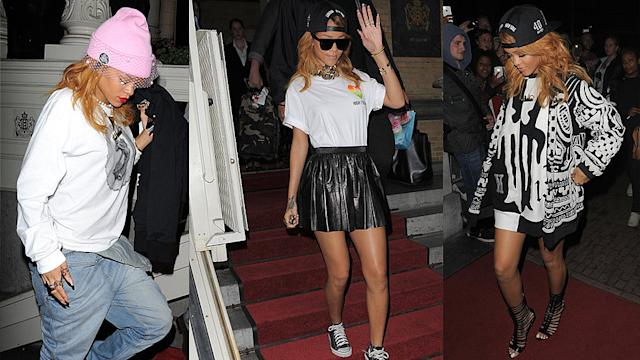 Rihanna's 3 Off-Duty Style Lessons in Amsterdam