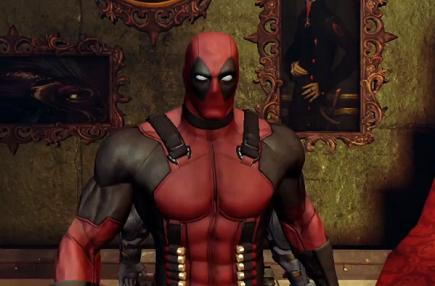 Deadpool shows off some sick moves, a few of his favorite things