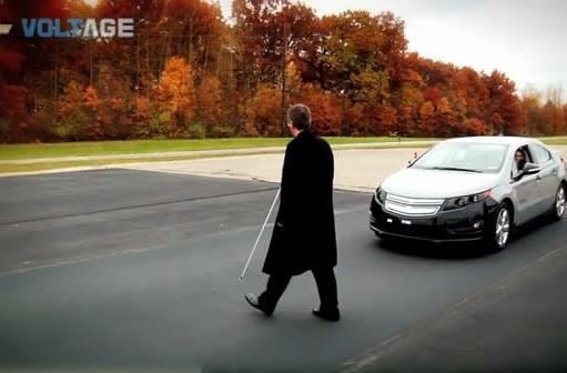 Chevrolet Volt gets driver-activated warning system for the blind