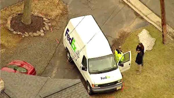 Fed Ex driver killed in traffic accident