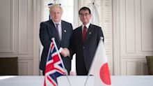 Japan's Foreign Minister Urges Hunt And Johnson To Avoid No-Deal Brexit