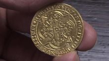 Woman finds 14th century coin worth $5.4K in secret drawer