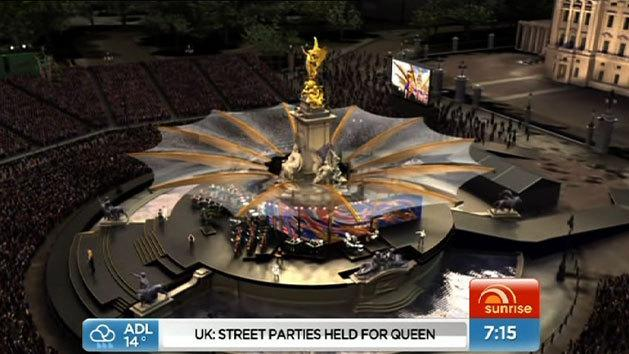 Stars warm up for Jubilee Concert