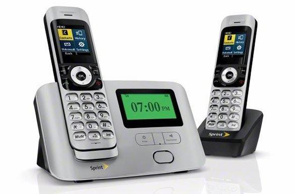 Sprint launches $50 cordless phone set for its landline-alternative service