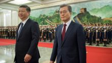 South Korea's Moon tries K-Pop and TV stars in China charm offensive