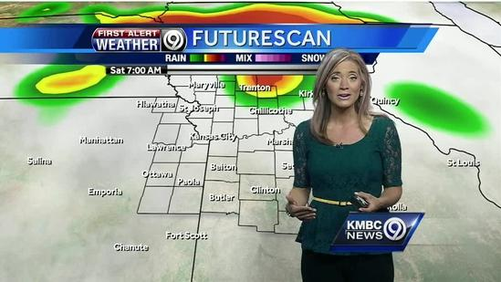 Mostly cloudy for your Saturday; rain for some later today