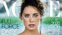 Daisy Ridley fiercely poses with wolves in epic photo shoot for Vogue